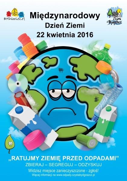 Międzynarodowy Dzień Ziemi Czysta Bydgoszcz Odpady