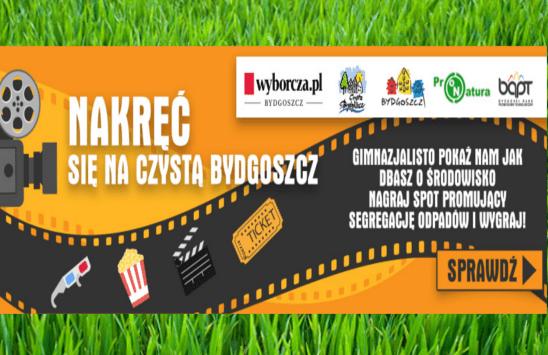 Nakręć się na Czystą Bydgoszcz