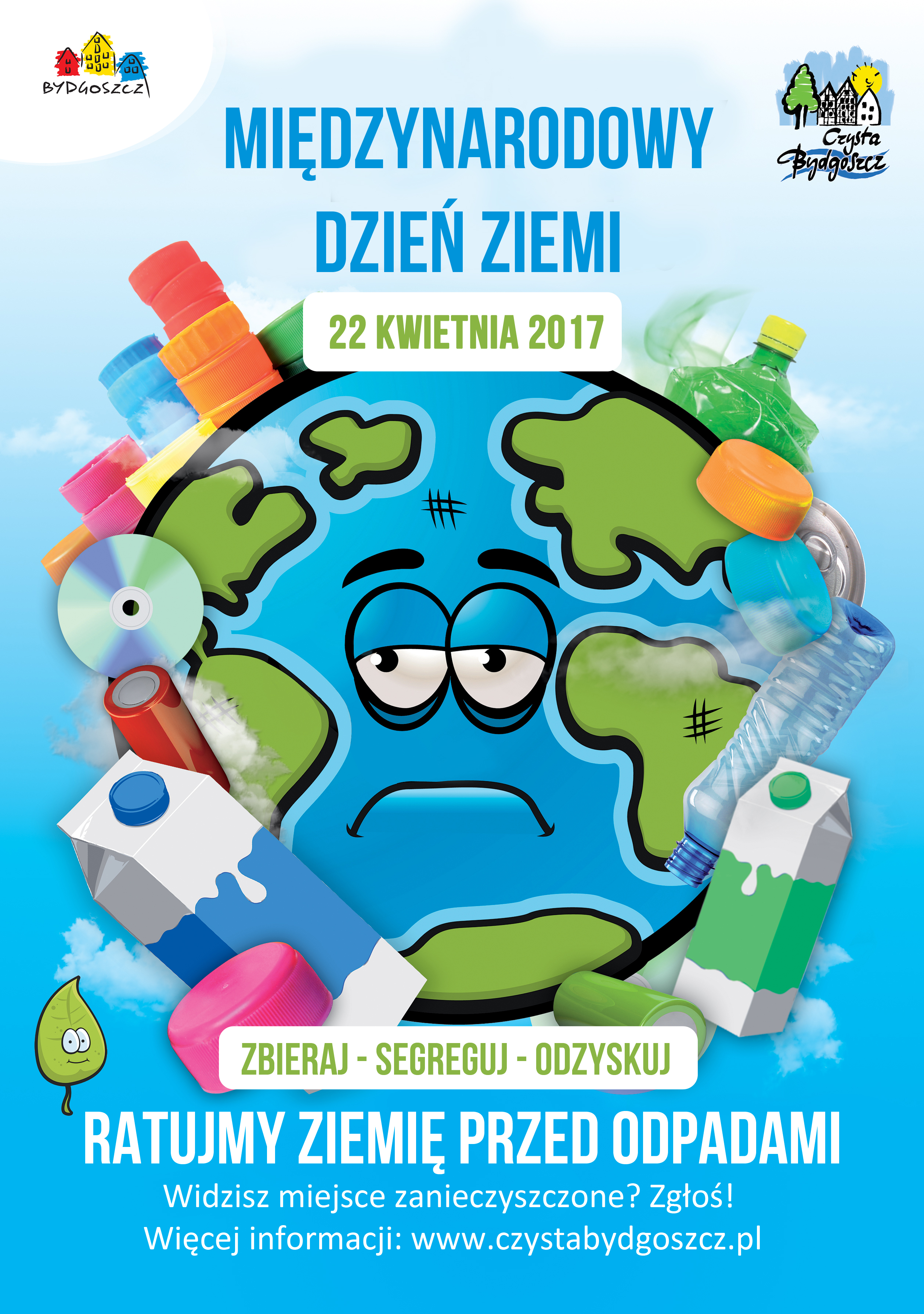 Międzynarodowy Dzień Ziemi 2017 Czysta Bydgoszcz Odpady