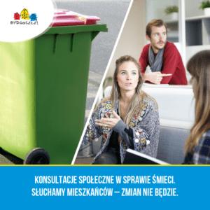 Słuchamy mieszkańców – nie będzie zmian w opłatach za odpady