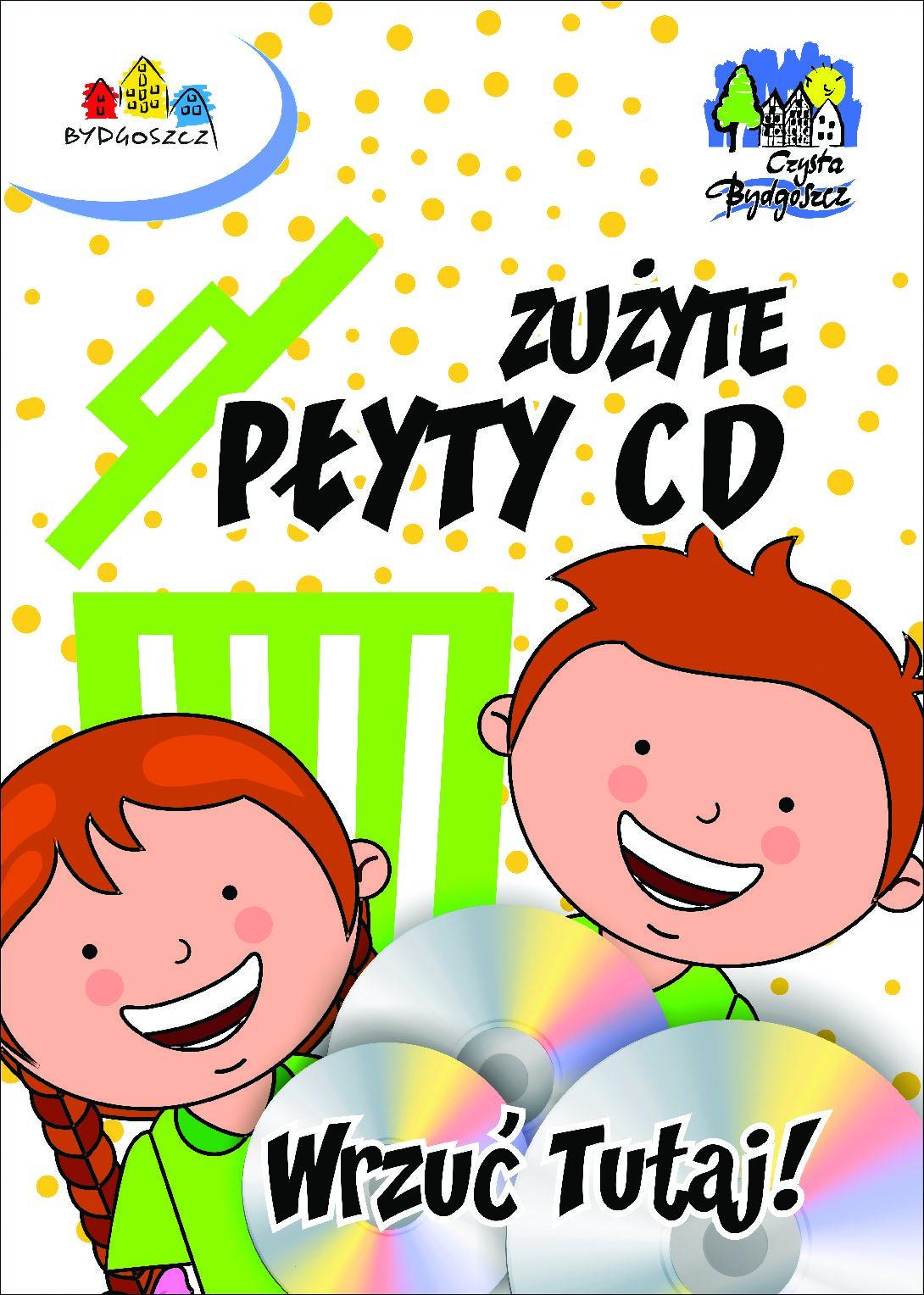 Zapraszamy do udziału w konkursie na zbiórkę zużytych płyt CD i DVD