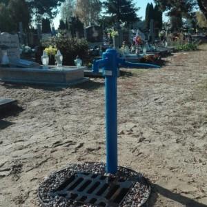 Nowa instalacja wodociągowa na cmentarzu komunalnym przy  ul. Wiślanej