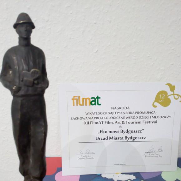 Felietony Bydgoszcz  Eko News wyróżnione na międzynarodowym festiwalu FilmAT