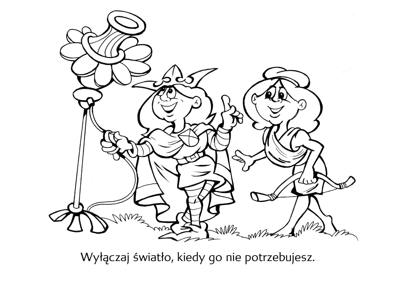 Kolorowanki Czysta Bydgoszcz Odpady Komunalne Czystosc