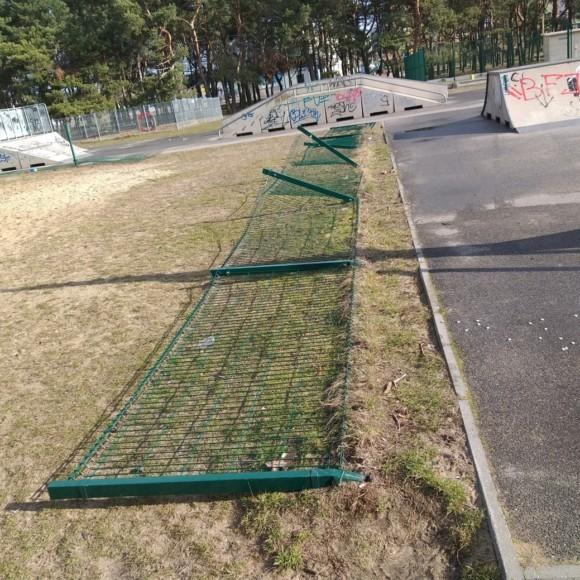 Akty wandalizmu na gminnych obiektach rekreacyjno–sportowych