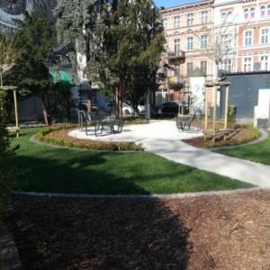 Odpocznij w pierwszym w mieście parku kieszonkowym