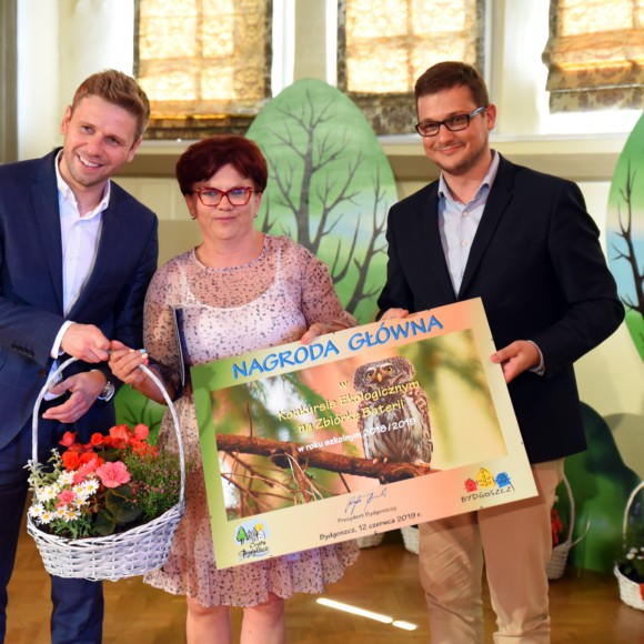 Uroczysta Gala podsumowująca konkursy i akcje ekologiczne