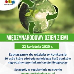 Międzynarodowy Dzień Ziemi 2020 – konkurs
