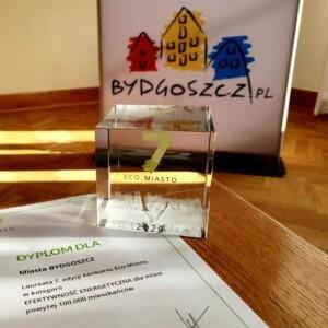 Bydgoszcz z nagrodą Eco-Miasto
