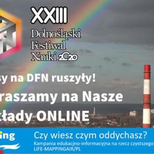 Wykłady online w ramach DFN