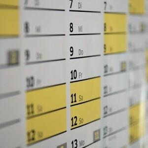 Nowe harmonogramy w sektorach II i V