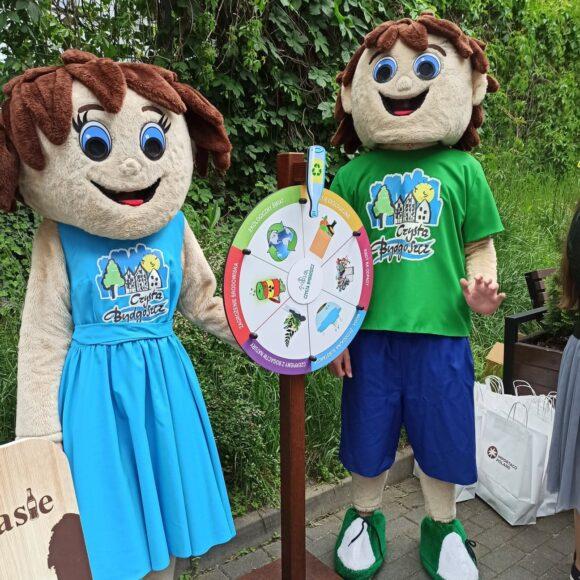 Bydguś i Bydgusia zapraszają na Dzień Dziecka z UTP