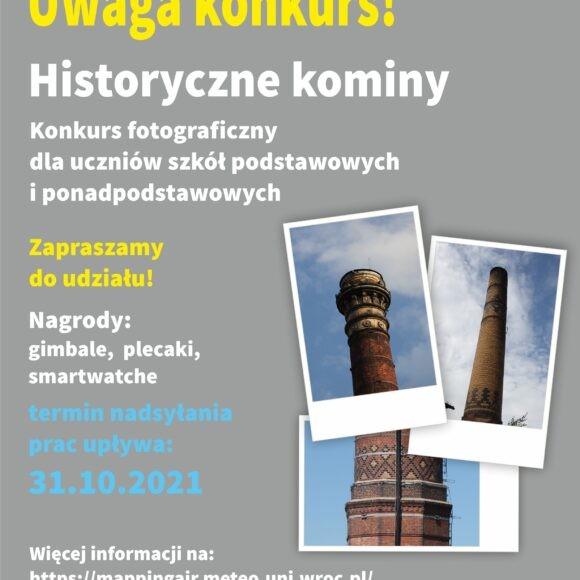 Historyczne kominy – konkurs fotograficzny